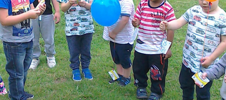 Happy Tots Balloon Races