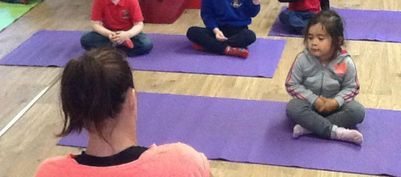 Pre School Owls Yoga Fun