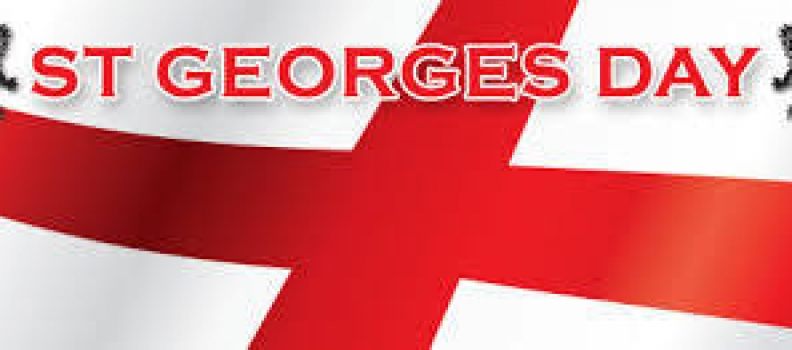 St Georges Day is coming