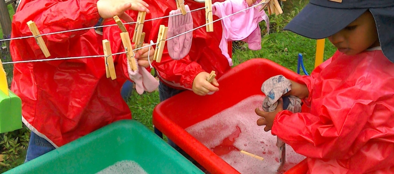 Washing Day In Pre School!